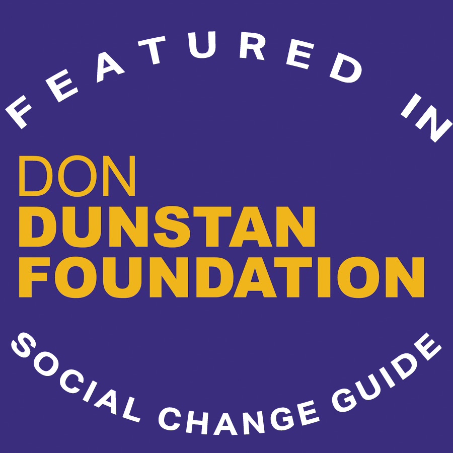 Featured in the Don Dunstan Foundation Social Change Guide